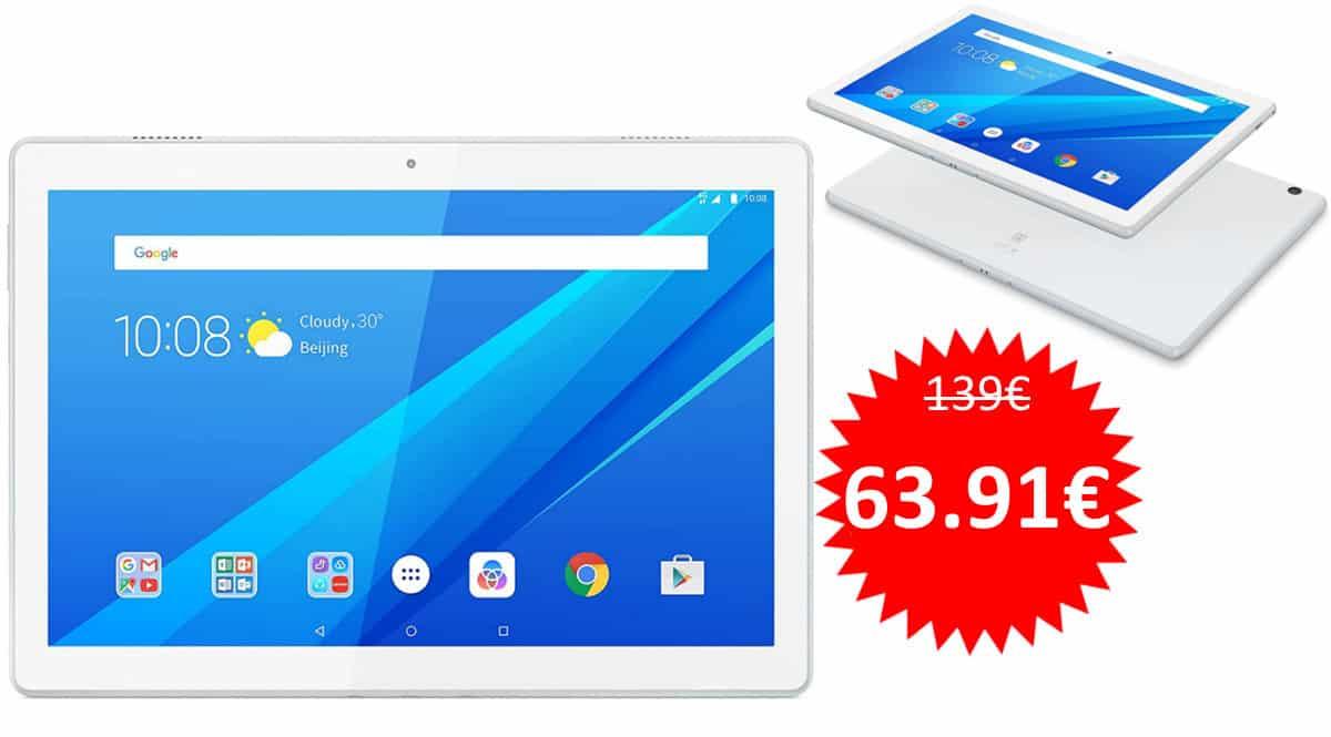 Tablet Lenovo Tab M10 HD barata. Ofertas en tablets, tablets baratas,chollo
