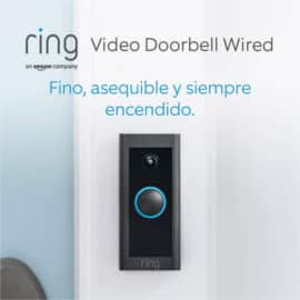 Timbre con cámara Ring Video Doorbell Wired barato. Ofertas en videoporteros, videoporteros baratos