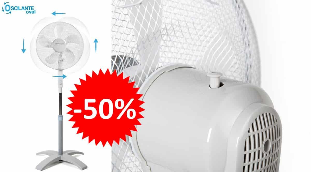 Ventilador Orbegozo SF 0440 barato. Ofertas en ventiladores, ventiladores baratos, chollo