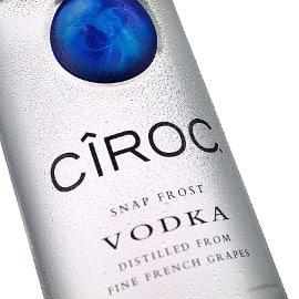 ¡Precio mínimo histórico! Vodka Ciroc 70cl sólo 18.45 euros.