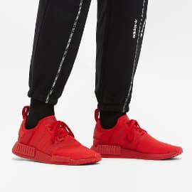 Zapatillas Adidas NMD_R1 rojas baratas, calzado de marca barato, ofertas en zapatillas