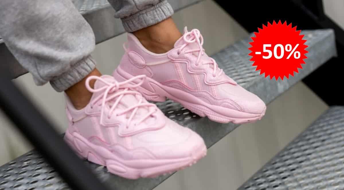 Zapatillas Adidas Ozweego baratas, calzado de marca barato, ofertas en zapatillas chollo