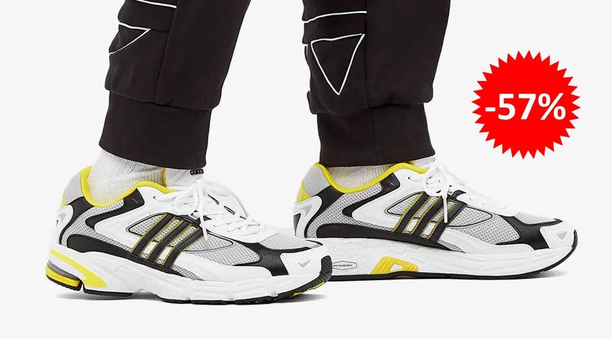 Zapatillas Adidas Response CL grises baratas, calzado de marca barato, ofertas en zapatillas chollo