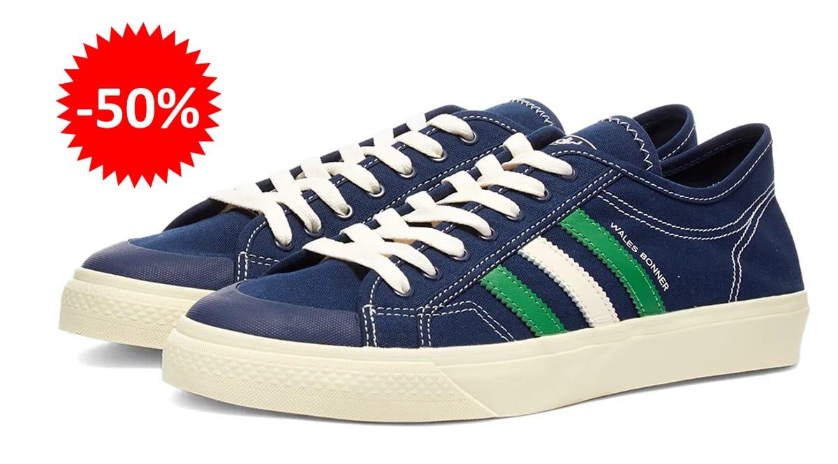 Zapatillas Adidas Wales Bonner Nizza baratas, calzado de marca barato, ofertas en zapatillas chollo