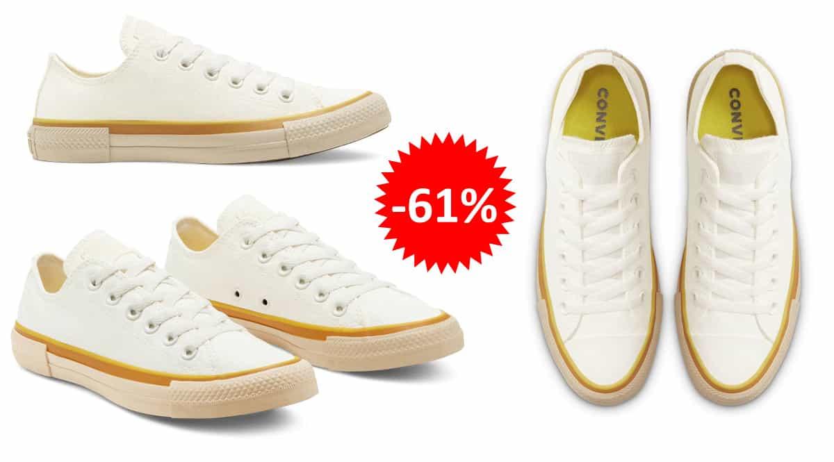 Zapatillas Converse Chuck Taylor All Star amarillas baratas, calzado de marca barato, ofertas en zapatillas chollo