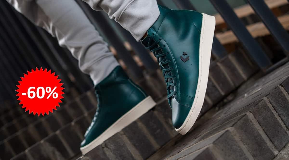Zapatillas Converse Pro Leather Hi x Horween baratas, calzado barato, ofertas en zapatillas chollo