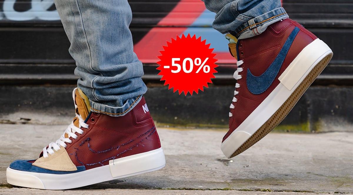 Zapatillas Nike SB Zoom Blazer Mid Edge baratas, calzado de marca barato, ofertas en zapatillas chollo