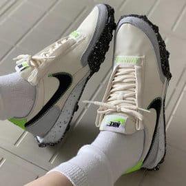 Zapatillas Nike Waffle Racer Crater para mujer baratas, calzado de marca barato, ofertas en zapatillas