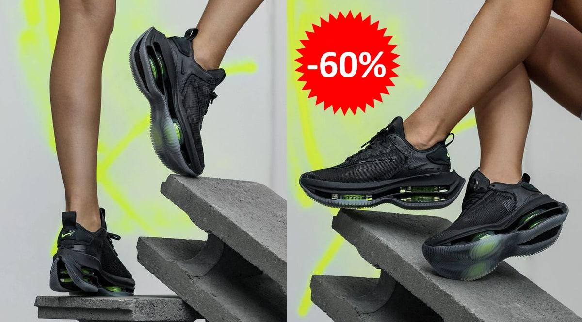 Zapatillas Nike Zoom Double Stacked baratas, calzado de marca barato, ofertas en zapatillas chollo