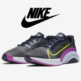 Zapatillas Nike ZoomX SuperRep Surge malvas baratas, calzado de marca barato, ofertas en zapatillas