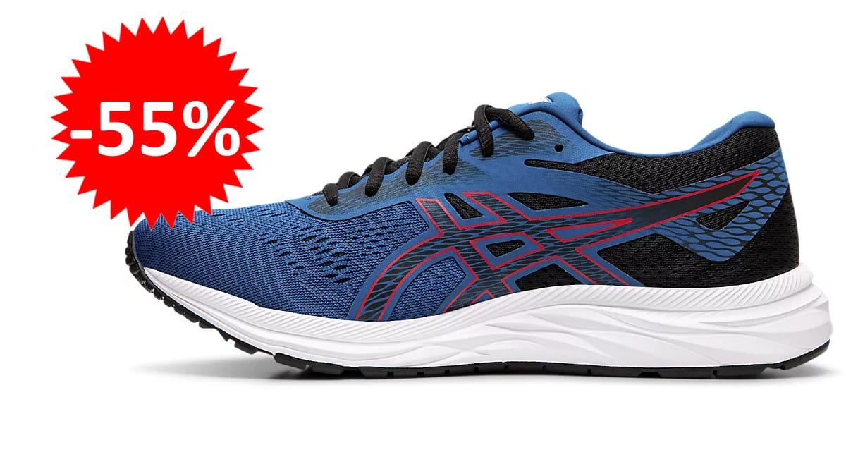 Zapatillas de running Asics Gel-Excite 6 baratas. Ofertas en zapatillas de running, zapatillas de running baratas, chollo
