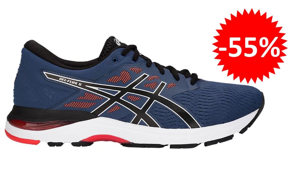 Zapatillas de running Asics Gel-Flux 5 baratas. Ofertas en zapatillas de running, zapatillas de running baratas, chollo