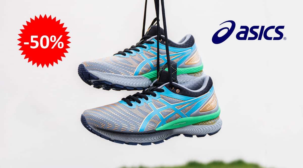 Zapatillas de running para mujer Asics Gel Nimbus 22 baratas, calzado de marca barato, ofertas en zapatillas chollo