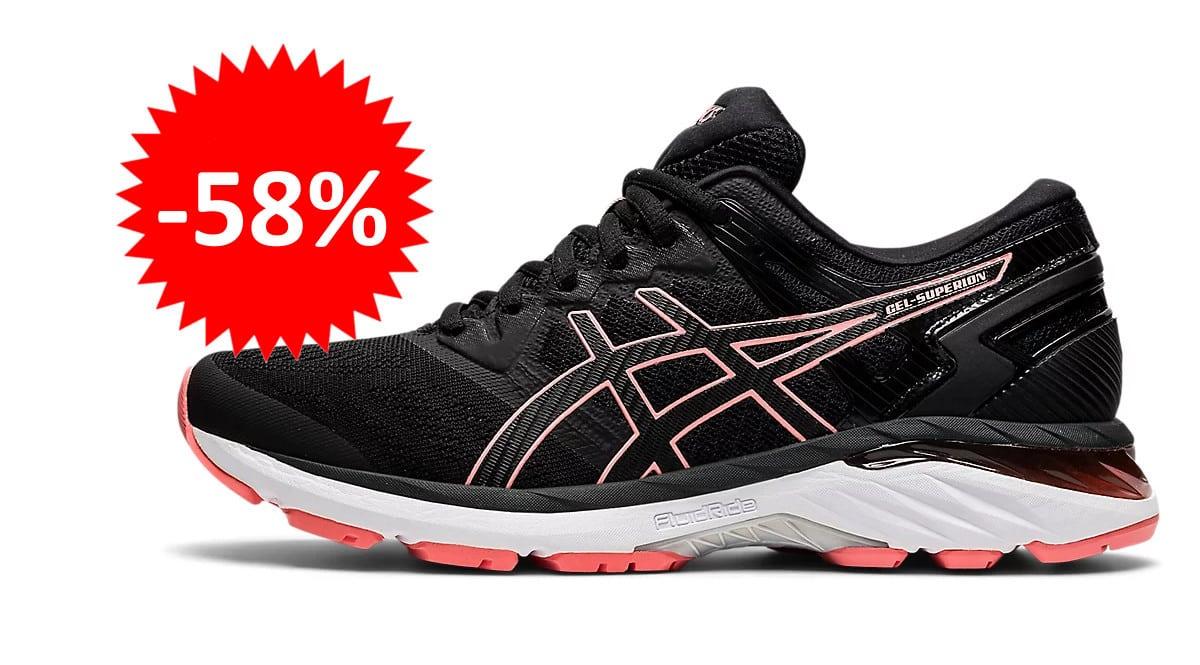 Zapatillas de running para mujer Asics Gel-Superion 3 baratas. Ofertas en zapatillas de running, zapatillas de running baratas,chollo