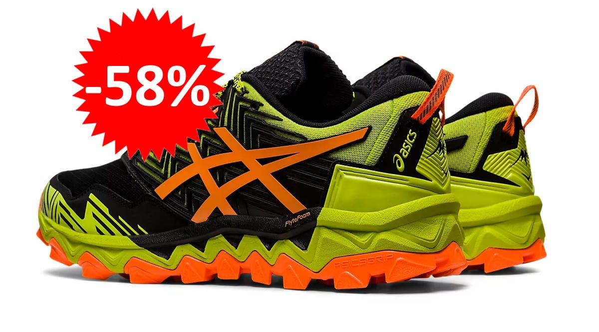 Zapatillas de trail running Asics Gel-Fujitrabuco 8 baratas. Ofertas en zapatillas de trail, zapatillas de trail running baratas,chollo