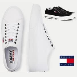 Zapatillas para hombre Tommy Jeans Long Lace Up Vulc baratas, zapatillas de marca baratas, ofertas en calzado