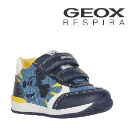 Zapatillas para niño Geox B Rishon Boy C Disney baratas, zapatillas de marca baratas, ofertas para niño
