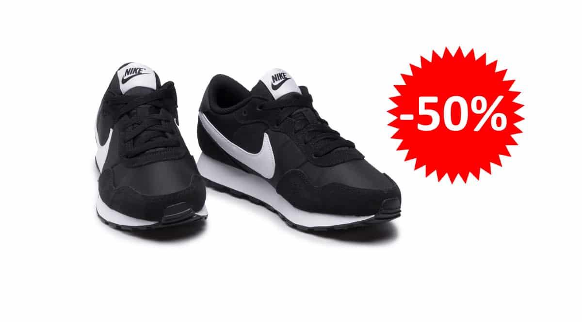 ¡Precio mínimo histórico! Zapatillas para niño Nike MD Valiant sólo 22 euros. 50% de descuento.