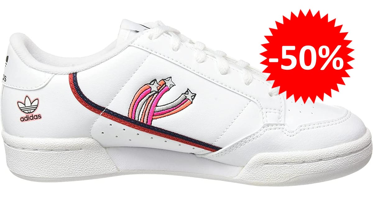 Zapatillas para niños Adidas Continental 80 J baratas. Ofertas en zapatillas zapatillas baratas, chollo