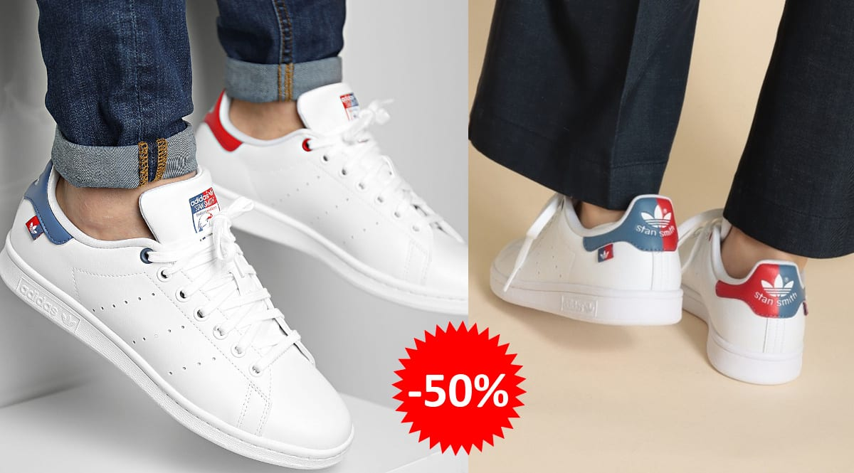 Zapatillas unisex Adidas Stan Smith Primegreen baratas, calzado de marca barato, ofertas en zapatillas chollo