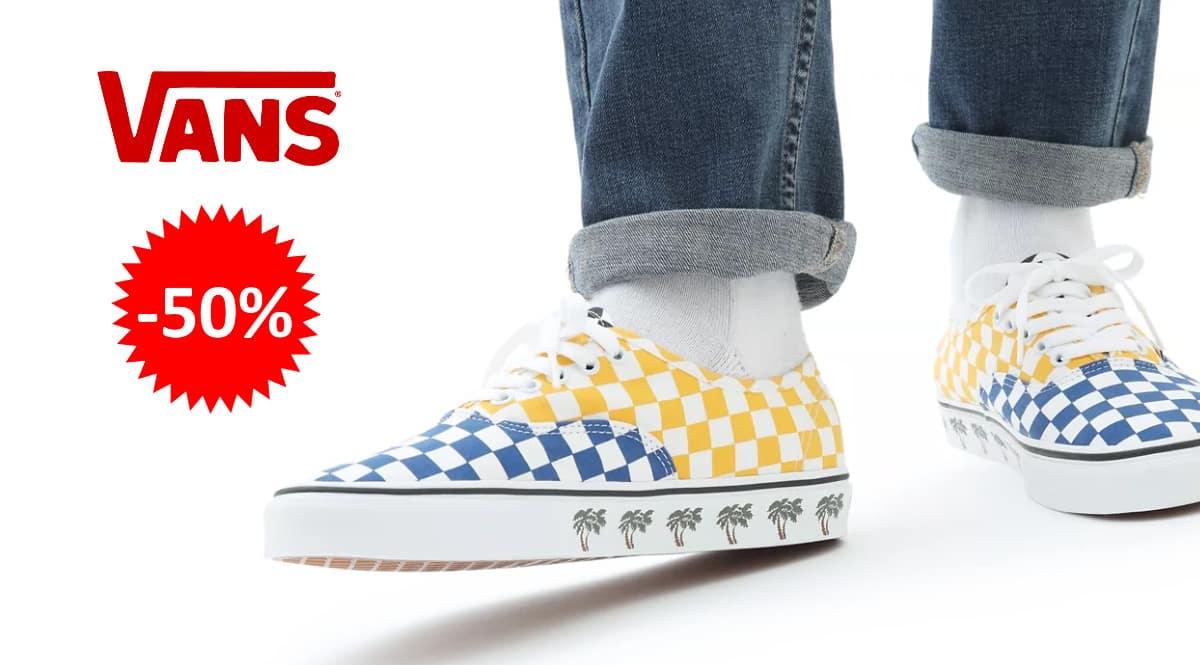 Zapatillas unisex Vans Sidewall Authentic baratas, calzado de marca barato, ofertas en zapatillas chollo