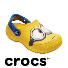 Zuecos Crocs Fun Lab Minions Clog K baratos, zuecos de marca baratos, ofertas en calzado infantil