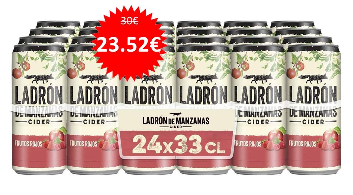 24-latas-de-cider-Ladron-de-Manzanas-Frutos-Rojos-baratas.-Ofertas-en-supermercado-chollo