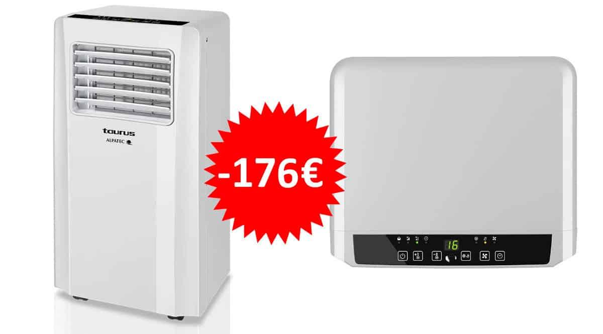 ¡Código descuento! Aire acondicionado portátil 3 en 1 Taurus AC 2600 KT sólo 323 euros. Te ahorras 176 euros.