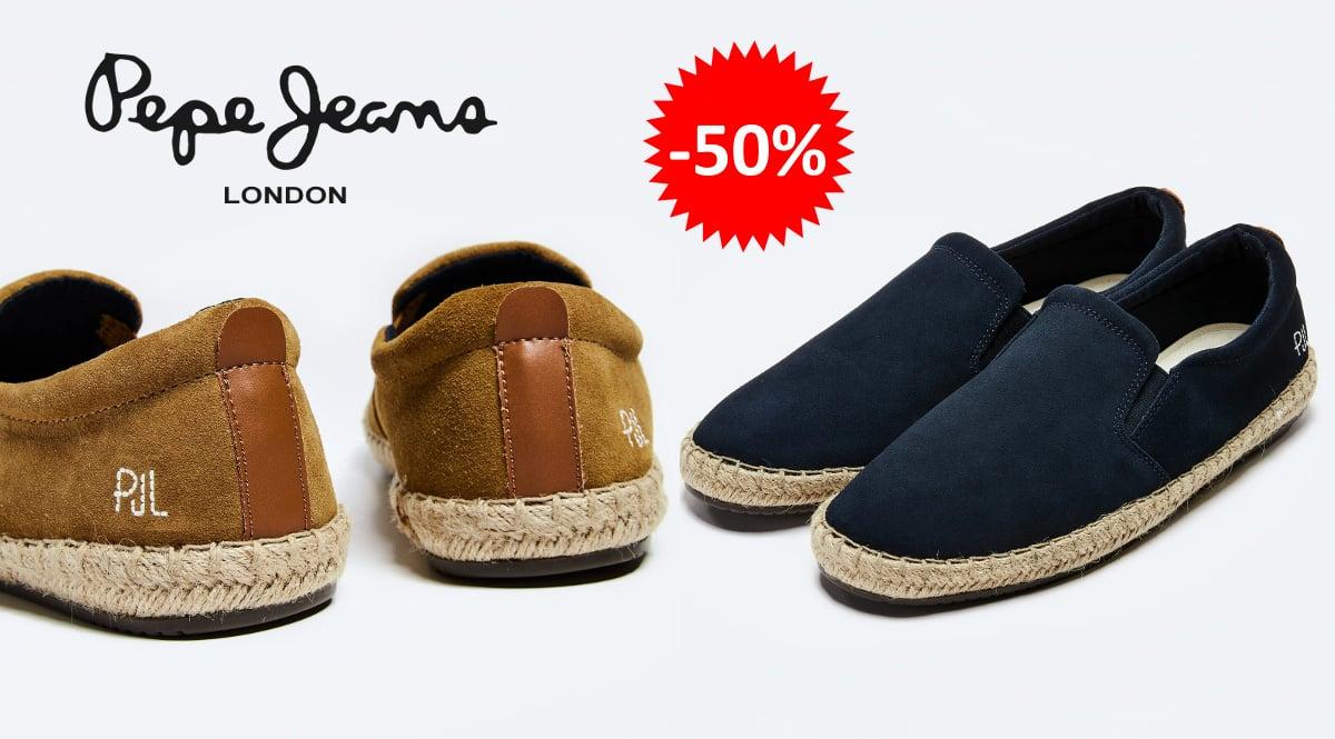 Alpargatas Pepe Jeans Tourist baratas, calzado de marca barato, ofertas en alpargatas chollo