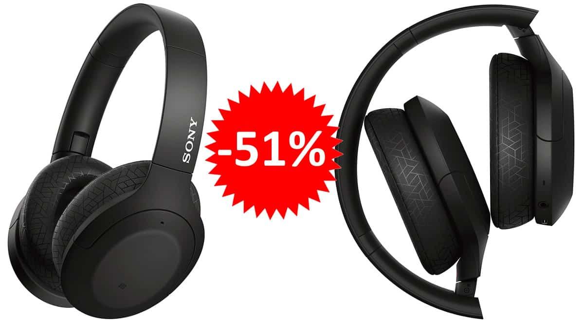 ¡Precio mínimo histórico! Auriculares Bluetooth Sony WH-H910N sólo 146 euros. 51% de descuento.