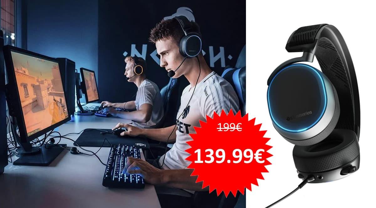 Auriculares Steelseries Arctic Pro baratos. Ofertas en auriculares, auriculares baratos,chollo