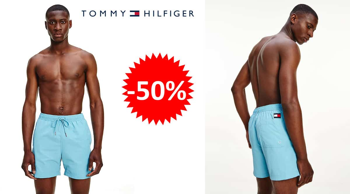 Bañador Tommy Hilfiger Medium Drawstring barato, bañadores de marca baratos, ofertas en ropa, chollo