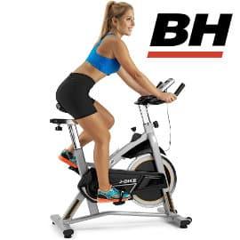 Bicicleta de ciclismo indoor BH Fitness J-Bike H9135RF barata, bicicletas de marca baratas, ofertas material deportivo
