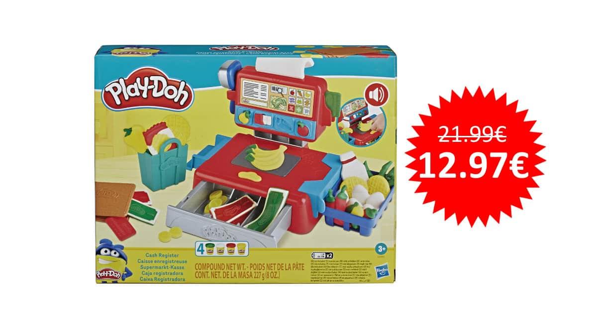 ¡Precio mínimo histórico! Caja registradora de juguete Play-Doh sólo 12.97 euros.