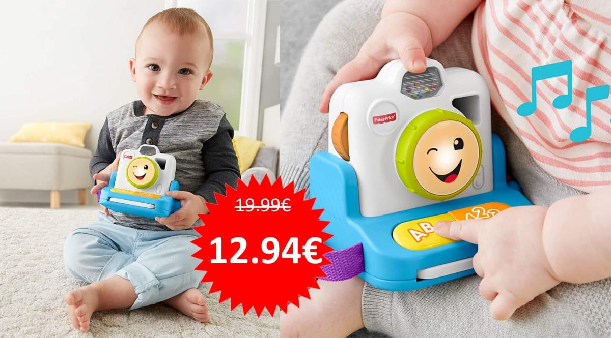 Cámara Fisher-Price Haz y Clic y aprende barata. Ofertas en juguetes, juguetes baratos, chollo