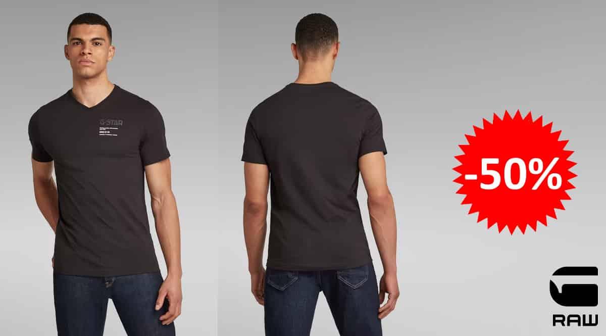 Camiseta G-STAR RAW Chest Graphic Slim barata, camisetas de marca baratas, ofertas en ropa