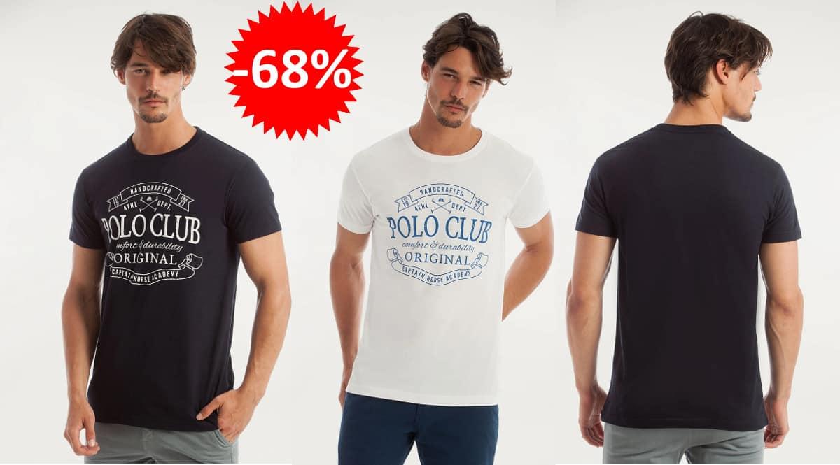 Camiseta Polo Club Vintage, ropa-de-marca-barata-ofertas-en-camisetas-chollo