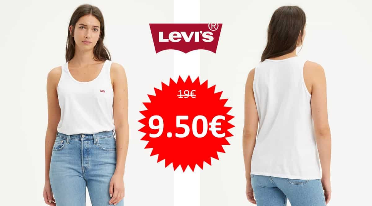 Camiseta de tirantes Levi's Essential Tank barata. Ofertas en ropa de marca, ropa de marca barata, chollo