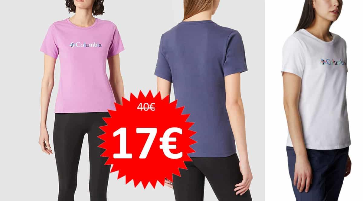 Camiseta para mujer Columbia Alpine Way barata. Ofertas en ropa de marca, ropa de marca barata, chollo