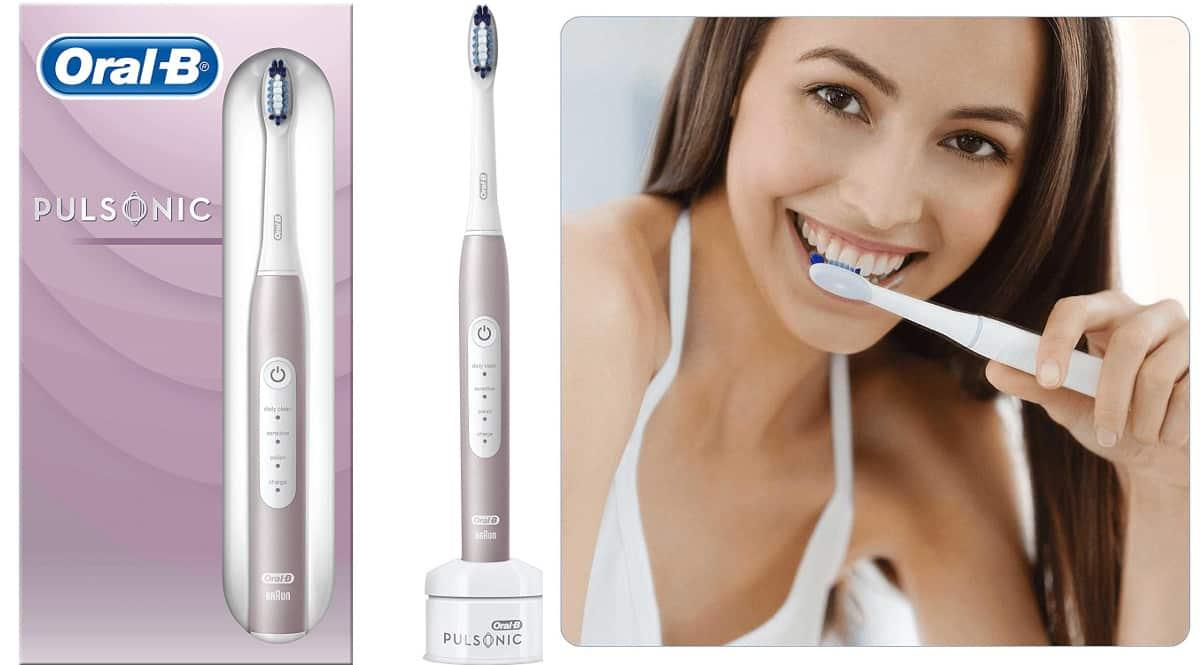 Cepillo de dientes eléctrico Oral-b pulsonic slim luxe 4000 barato, cepillos de marca baratos, ofertas cuidado personal, chollo