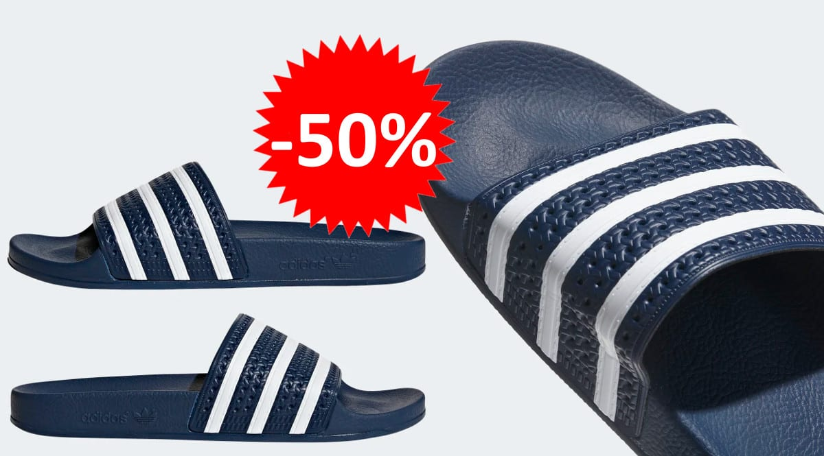 Chanclas Adidas Adilette baratas. Ofertas en calzado de marca, calzado de marca barato, chollo