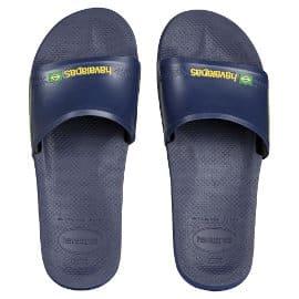 Chanclas unisex Havaianas Slide Brasil baratas, chanclas de marca baratas, ofertas en calzado
