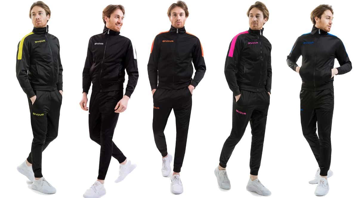 Chándal Givova Revolution barato, ropa de marca barata, ofertas en ropa deportiva chollo
