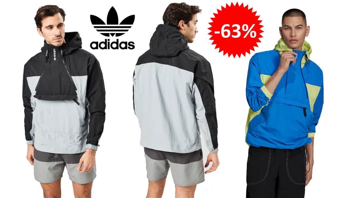Chaqueta de entretiempo Adidas Originals Adventure Mishmash barata, ropa de marca barata, ofertas en chaquetas chollo1