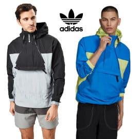 Chaqueta de entretiempo Adidas Originals Adventure Mishmash barata, ropa de marca barata, ofertas en chaquetas