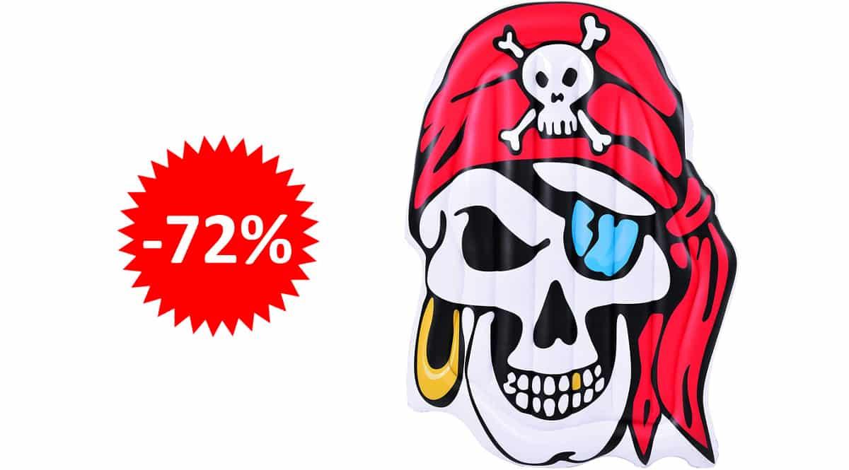 Colchoneta hinchable Pirata barata, juguetes baratos, ofertas para niños chollo