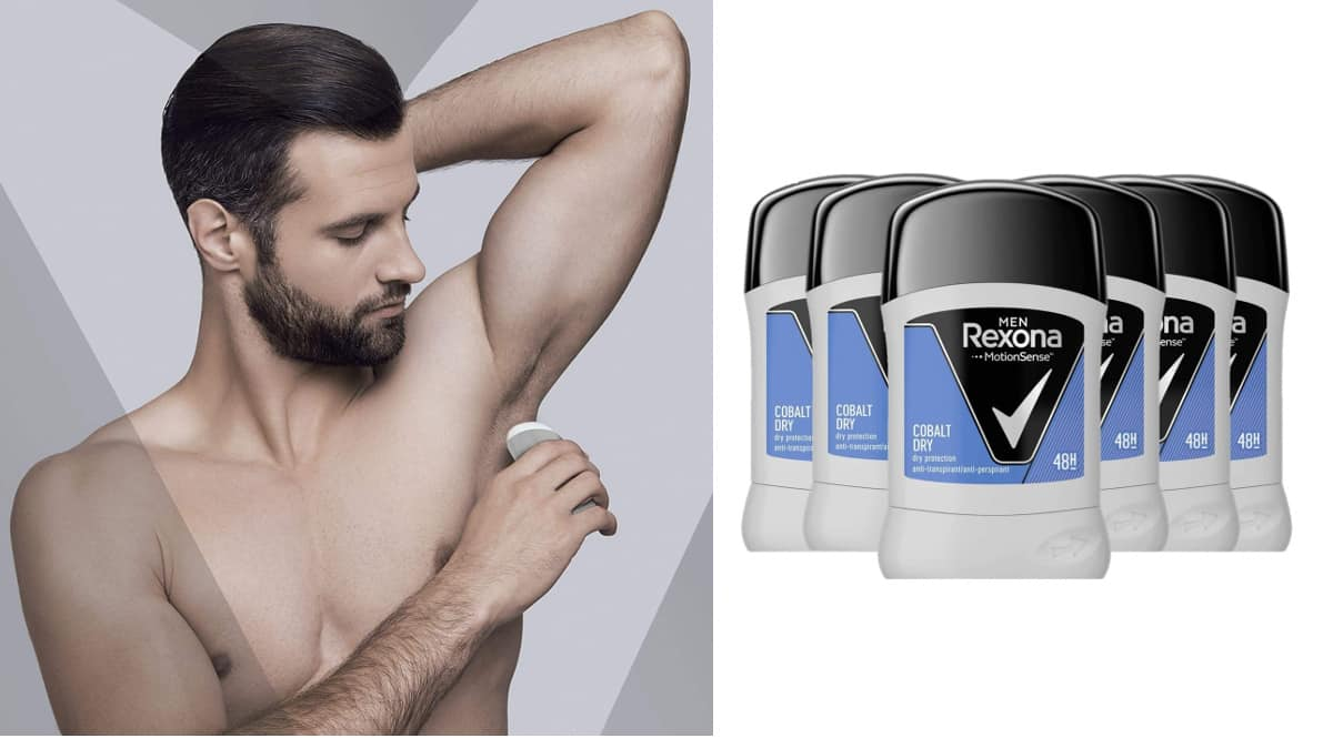 DEsodorante antitranspirante Rexona Cobalt Dry barato, desodorantes de marca baratos, ofertas supermercado, chollo