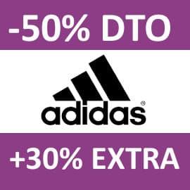Descuento EXTRA Adidas agosto, ropa de marca barata, ofertas en calzado