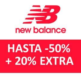 Descuento EXTRA rebajas de New Balance, ropa de marca barata, ofertas en calzado