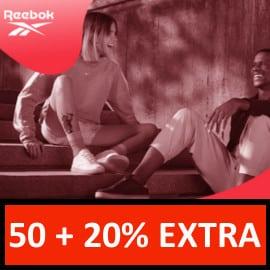 Descuento extra en rebajas del Oulet de Reebok. Ofertas en ropa de marca, ofertas en zapatillas, ropa de marca barata, zapatillas baratas